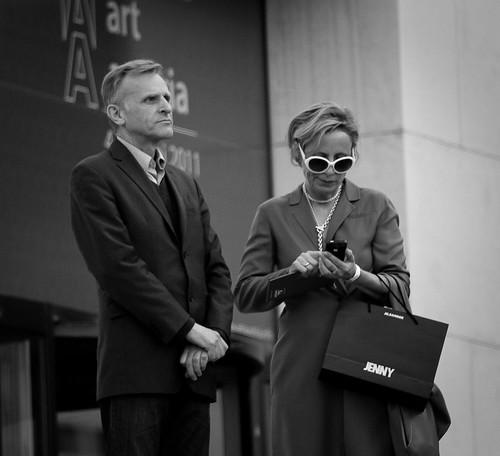 Dos millonarios en el MQ de Viena