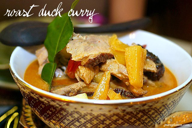 roast duck curry