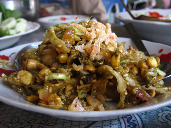 Typical cuisine in Myanamar