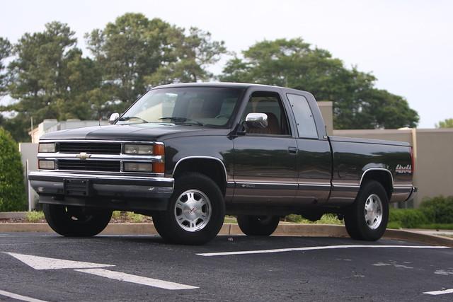 truck 4x4 chevy silverado