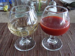 Another Tequila and Sangrita (knightbefore_99) Tags: food west bar mexico lunch coast drink tequila patio mexican cocktail oaxaca tropical booze huatulco sangrita