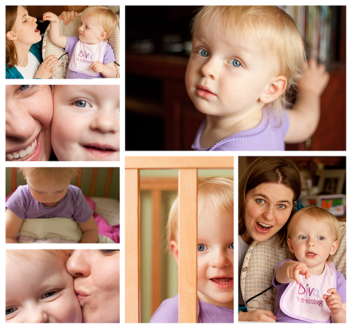 Hannah & Mom Web Collage