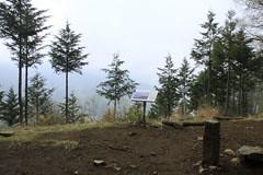 高畑山の頂