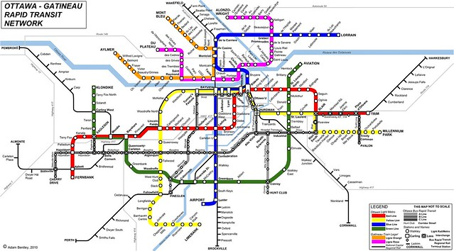 A Subway Map Is A Good Example Of A.Creative Mapping Spacing