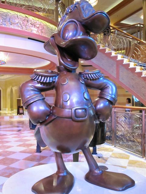Admiral Duck in Bronze