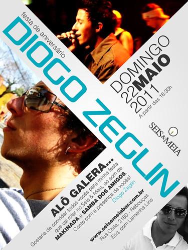 Convite Aniversário - Diogo by chambe.com.br