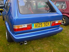 mk1_golf_blue_tailgate (piers mason) Tags: camping rabbit london cars car thames vw club golf volkswagen bay retro valley mk2 jetta restoration t3 split gti 1980s camper passat dub wolfsburg caddy campervan lupo aircooled vanagon scirocco brickyard veedub t25 wasserboxer volksworld mk3 splitty watercooled doka hightop vzi easthampstead mk1 bigboystoys dubber 8090 mk1golf hothatch markonegolf ratlook dubsatthepark ltvwoc crazyquiff