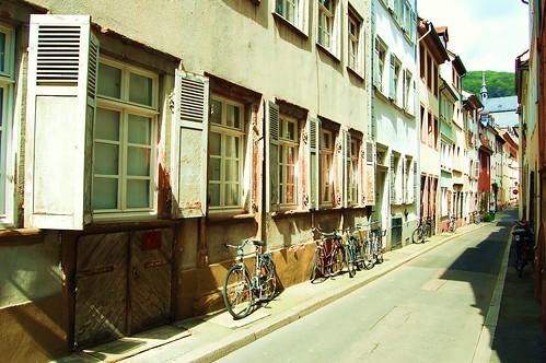 A Heidelberg street