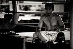 Thinking before fighting - Lanna Muay Thai Boxing Camp - Chiang maï