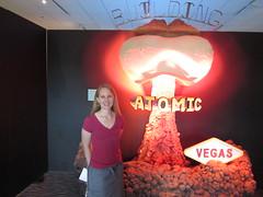Jill at Atomic Testing Museum