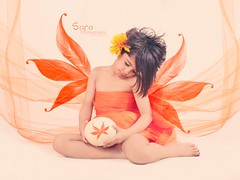 (Sara Abdulaziz ~) Tags: life flowers light cute bird love feet girl beautiful face look kids canon hair studio photography fly nice eyes long sara child hand sad princess sweet good magic eggs soso angal