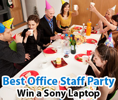 Best Office Staff Party Photo Contest on Lenzr.com