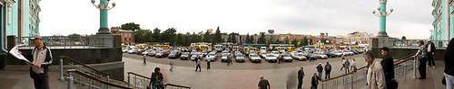 Omsk station panorama