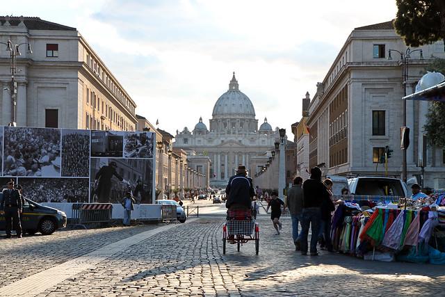 Rome. Near St. Peter's Basilica