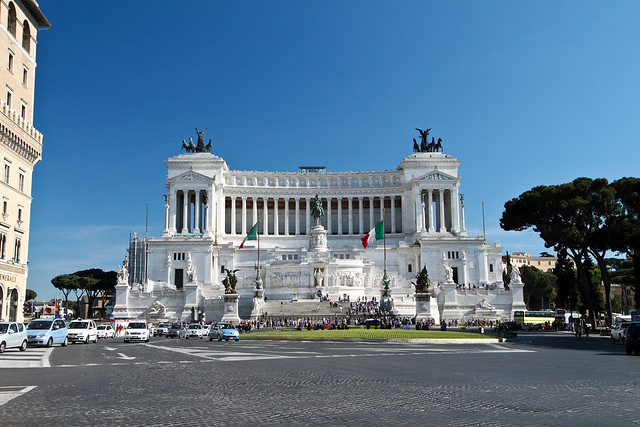 Rome. Monument to Vittorio Emanuele II