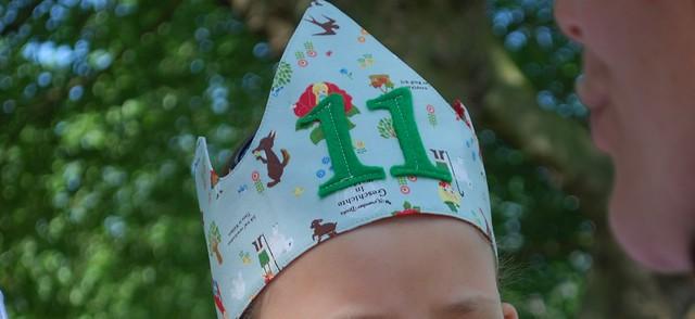 Kroon voor een 11jarige