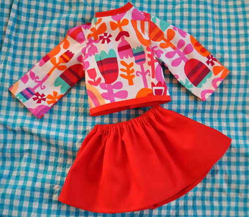 prints charming dolls clothes