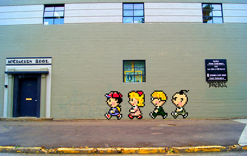 Pixel Life Canvas #002: Earthbound by Thretris