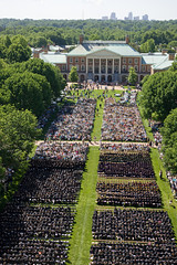 Quad on Commencement 2008