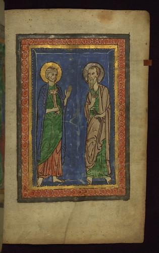 Illuminated Manuscript, Claricia Psalter, Walters Art Museum Ms. W.26, fol.9r by Walters Art Museum Illuminated Manuscripts