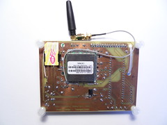 Homemade PCB of GSM Back