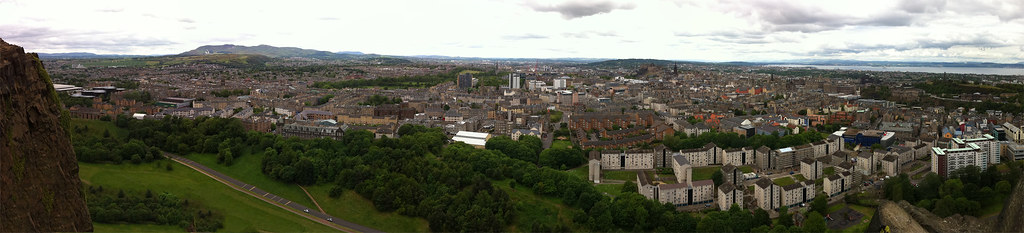 Edinburgh City Panorama