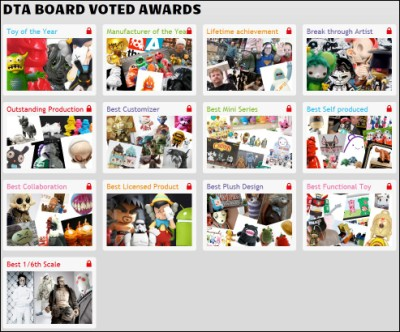 toybot studios picks for DTA Board Voted Awards