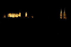 Nrnberg Castle and Sebaldus Church at Night (R.Halfpaap) Tags: nrnberg nuremberg night nachts castle burg sebald sebaldus church kirche longtime exposure