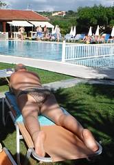 Sunbathing at the Splish Splash (pj's memories) Tags: kaloudis kiniki pool tanthru