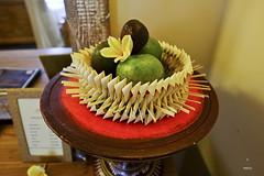 Fruit basket amenity (A. Wee) Tags: sankara resort hotel  ubud bali  indonesia  fruit amenity