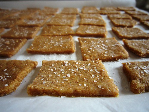 Salted crackers, take two