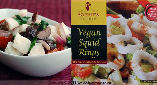 Vegan Calamari Salad
