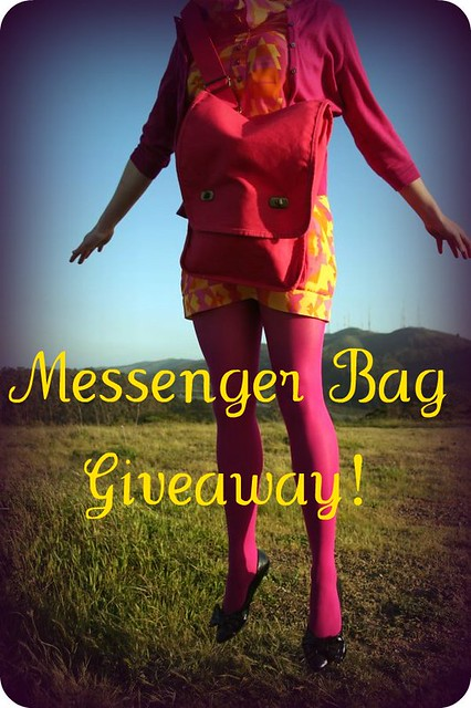Messenger Bag Giveaway!
