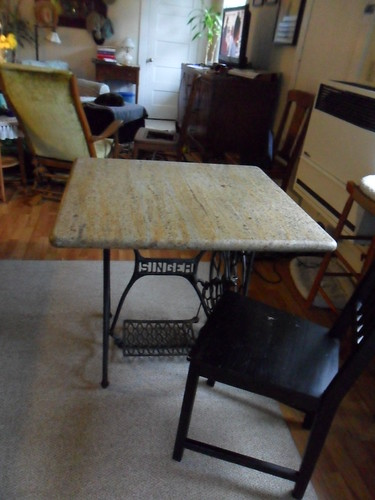 Singer Sewing Machine Table by jennconspiracy