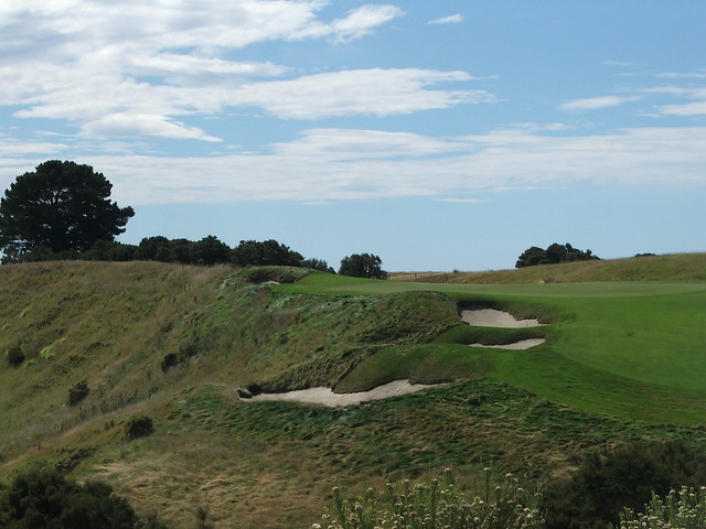 cape kidnappers 6th green