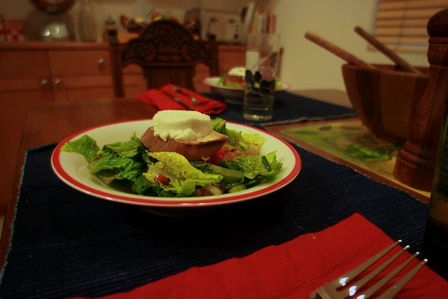 Day 82 - Salade au Chèvre Chaud