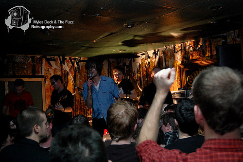 Myles Deck & The Fuzz - Gus' Pub - March 19th 2011 - 22
