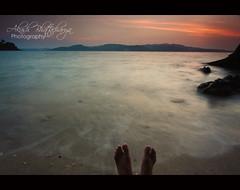Calm | Andaman (@k@sh) Tags: sunset sea sun india love canon 350d amazing bravo couple alone posed sigma wife 1020 marry propose andaman nicobar akash tapu gnd8 chiriya hevlock