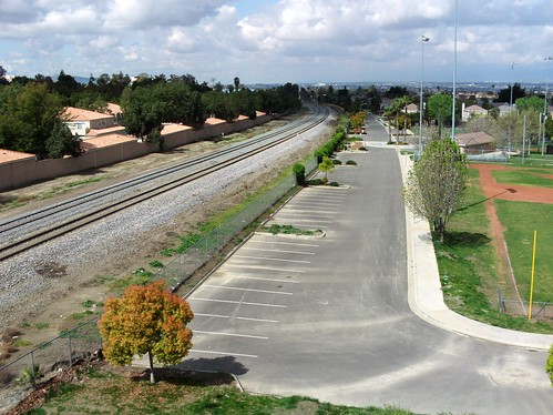 Railroad Tracks In Loma Linda-2