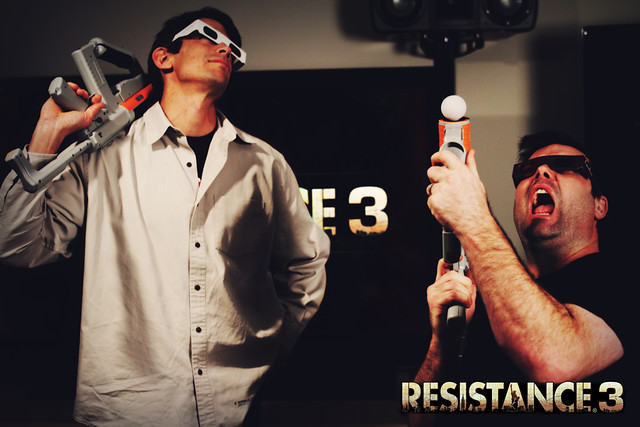 Resistance 3: Stereoscopic 3D and PlayStation Move sharp shooter