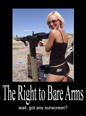 bare arms