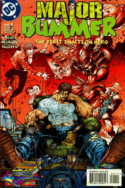 Major Bummer 1 cover by Doug Mahnke 1997