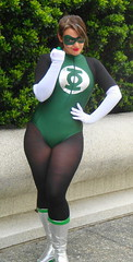 green lantern (Luckykatt) Tags: sanfrancisco california costumes dc tv comic cosplay tights convention superhero comicbooks movies 25th marvel greenlantern comiccon mosconecenter warnerbrothers wondercon dcuniverse genderbent rule63 luckykatt miaballistic wondercon2011 celebratingthepopulararts