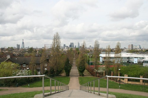 The City from the top of Stave Hill