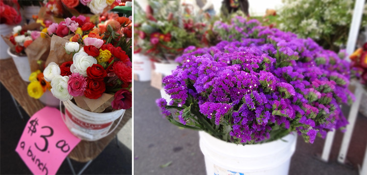 Farmer's Market Flowers