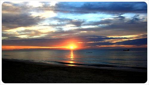 Sunset on Big Corn Island