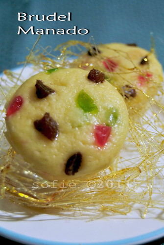 Brudel Manado with Spun Sugar