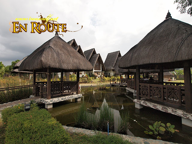 Nice looking cottages at the resort