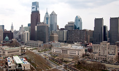 Philadelphia Skyline (scottdunn) Tags: park building philadelphia skyline comcast liberty place pennsylvania cityhall library aerial kap logansquare kiteaerialphotography pnb benfranklinparkway franklininstitute comcastcenter benjaminfranklinparkway freelibrary onelibertyplace bellatlantictower swannmemorialfountain onelogansquare cathedralbasilicaofsspeterpaul gfreddibonajrbuilding bnymelloncenter fesseldrachenluftbildfotografie thefranklininstitue