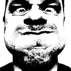 [フリー画像] 人物, 男性, モノクロ写真, 201109140100